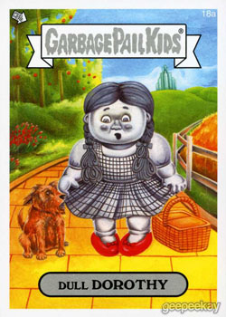 your choice of 3 Garbage Pail Kids 2014 Series 1 #/'s 51-66 a/'s and b/'s