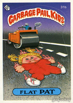 GARBAGE PAIL KIDS 48 PIECES OF ORIGINAL 1980/'S GUM 1-15 YOU-PICK USA OR CANADA