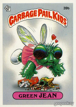 1000+ images about Garbage Pail Kids Cards on Pinterest