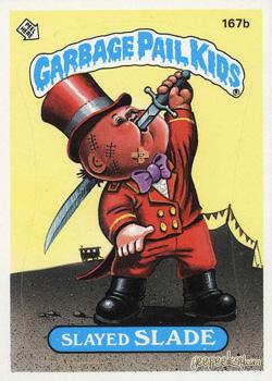 1986 SERIES 5 TOPPS GPK GARBAGE PAIL KIDS 196b SURREAL NEAL