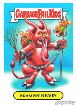 Garbage Pail Kids American As Apple Pie In Your Face