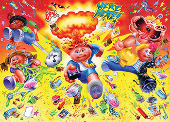 Green Gum 2003 USA Garbage Pail Kids ALL NEW SERIES 1 BOX Poster On Sale Here
