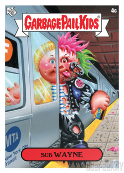 2019 Topps NYCC Garbage Pail Kids NYC Comic Con Takeover 3c Empire State KATE